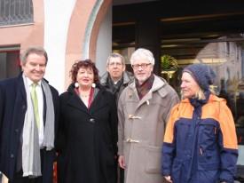Umweltminister Untersteller in Staufen
